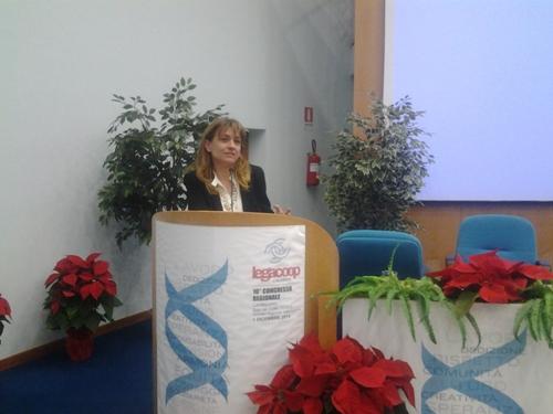 Gli auguri di Confcooperative Calabria ad Angela Robbe
