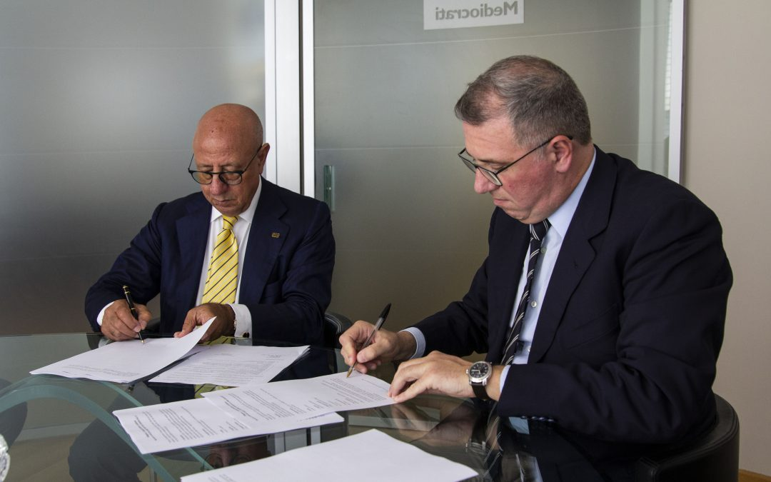Siglato l'accordo con BCC Mediocrati per sostenere la buona cooperazione
