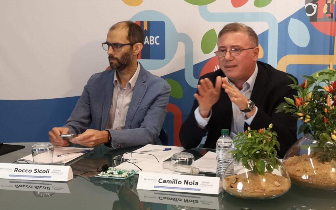 Camillo Nola rieletto Presidente di Confcooperative Calabria